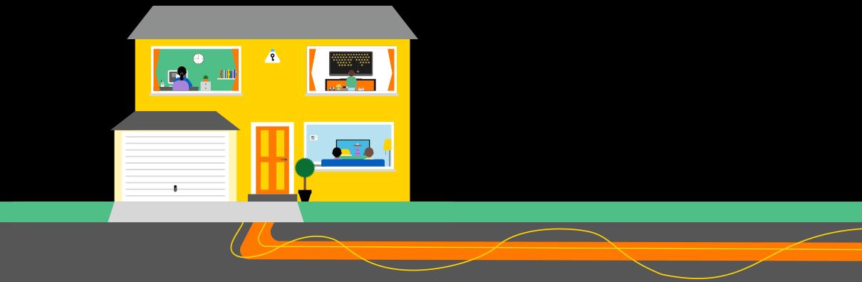 Avantages la maison la fibre optique d 39 orange s n gal senefibre - Avantage de la fibre optique ...